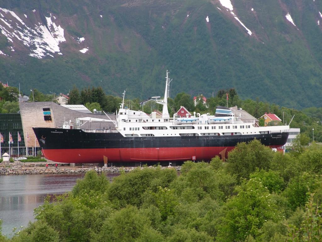 Ms Finnmarken. Hurtigruta-museum.