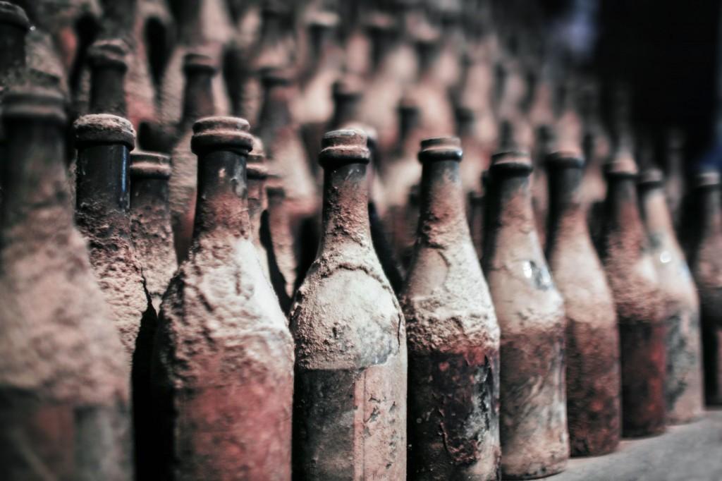gamleflasker