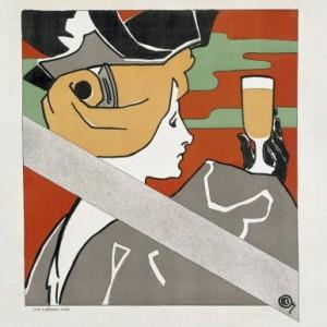 Reklameplakat for bockbier 1896. Er det reklame?