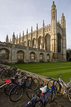 cambridge med sykkel