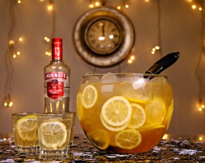 Smirnoff new year punch