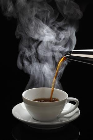 Varm kaffe.